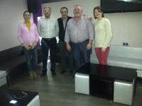 28-02-2014: Los diputados provinciales Manuel Mínguez y Juan Gómez en una reunión de trabajo con el Partido Popular de Fuenteálamo en la que se habló de la importancia de las elecciones europeas en la economía de nuestro país y nuestra región.