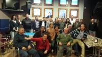 17-12-2015: En Fuentealbilla, mitin de Carmen Navarro con presencia de numerosos afiliados y simpatizantes.