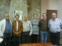 23-10-2012: El alcalde Ángel Salmerón ha sido elegido presidente del PP de Fuentealbilla, tras la reunión del comité local en el que estuvo presente el coordianador de Organización del Partido Popular, Antonio Martínez.