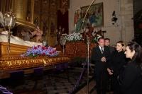 03-04-2015: La presidenta Cospedal, este Viernes Santo en Hellín.