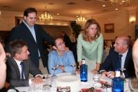 16-10-2013: María Dolores Cospedal y Francisco Núñez en el encuentro con alcaldes y portavoces del Partido Popular de la provincia de Albacete.