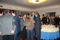 08-01-2013: Imagen del desayuno celebrado en Gran Hotel con los medios de comunicación.