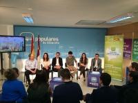 14-04-2014: Nuevas Generaciones en una reunión con el consejero Marcial Marín, donde han tratado la LOMCE.