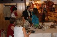 14-09-2015: Paco Núñez compartió almuerzo ferial con Mujeres en Igualdad.