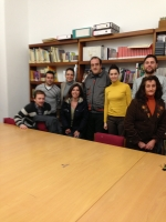 22-02-2013: La senadora Belén Torres se ha reunido con la teniente alcalde de La Gineta y presidenta del PP y con el resto de concejales 'populares' para abordar temas de interés nacional como las diferentes medidas y reformas estructurales del Gobierno.