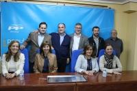 23-11-2015: Las candidaturas al Congreso y Senado mantuvieron un encuentro con afiliados de Villarrobledo.