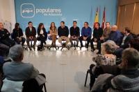 24-11-2015: Reunión en la sede provincial del PP con los candidatos de cara a las elecciones generales del 20 de Diciembre.