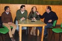 10-12-2015: En Molinicos, Carmen Navarro, Antonio Martínez y Paco Núñez, informaron sobre el programa electoral del PP.