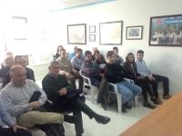 22-02-2016: Reunión de Paco Núñez con la junta local del PP rodense.