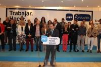 18-04-2015: Paco Núñez, convencido de que es la única candidatura de gobierno para Almansa la que él encabeza.
