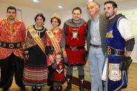 01-05-2015: González Pons y Francisco Núñez, en el primer día de las Fiestas Mayores de Almansa.