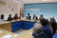 21-03-2016: Reunión de la presidenta del PP-CLM, María Dolores Cospedal, con el Grupo Municipal del PP.