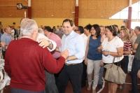 14-05-2015: Más de 600 personas en el mitin-almuerzo de Villarrobledo, con asistencia de Paco Núñez.