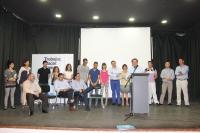 14-05-2015: Paco Núñez acompañó a la candidatura de Casas Ibáñez en su presentación.
