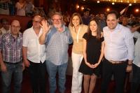 16-05-2015: Exito de público en el mitin de Almansa.