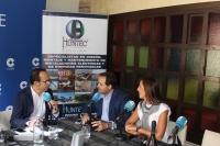 14-09-2016: El presidente del PP, Paco Núñez, dio un repaso a la actualidad en los micrófonos de la Cadena Cope de Albecete, en plena Feria de la capital.