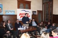 02-12-2012: Olga López toma el relevo de Cándida Martínez en el PP de Elche de la Sierra.