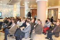 22-12-2012: Alcaldes del PP en la reunión con la secretaria general del PP, María Dolores Cospedal.
