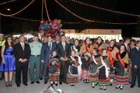04-08-2013: Fiestas patronales en La Roda, con presencia del presidente del PP, Francisco Núñez.