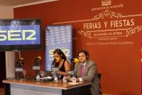 15-09-2013: Francisco Núñez, en los micrófonos de la SER Castilla-La Mancha.