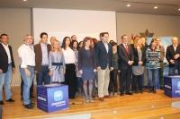09-11-2013: El nuevo equipo del PP de Hellín salido del congreso, con Manuel Mínguez al frente.
