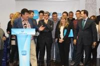 16-11-2013: Antonio Serrano, en el Congreso del PP de Almansa.