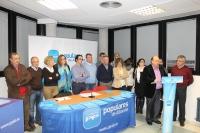 29-11-2013: Elegida la nueva ejecutiva local del PP de La Roda.