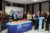 29-11-2013: El presidente Núñez valoró la gran gestión del alcalde rodense Aroca.