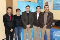 08-02-2014: Nueva junta local del PP de Casas Ibáñez.
