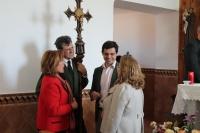 29-04-2015: Javier Cuenca ha asistido esta mañana a la Misa y a la posterior procesión que se ha celebrado en la pedanía albaceteña de Campillo de las Doblas con motivo de la celebración de su patrón, San Pedro Mártir.