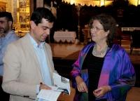 07-05-2015: El candidato a la Alcaldía de Albacete por el Partido Popular, Javier Cuenca, ha asistido esta tarde a la bendición de la nueva vidriera que se ha instalado en la Catedral de la capital albaceteña.