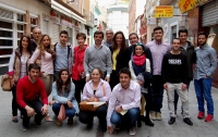 25-04-2015: El candidato a la Alcaldía de Albacete, Javier Cuenca, ha mantenido un encuentro con jóvenes de NNGG y ha prometido trabajar para ofrecerles más oportunidades laborales.