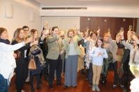25-12-2014: Junta directiva provincial del PP de Albacete, en vísperas navideñas.