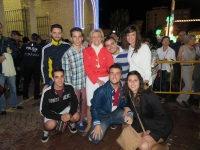 19-09-2014: Nuevas Generaciones felicita a la alcaldesa, Carmen Bayod, y la acompaña en la clausura de la Feria de Albacete 2014.