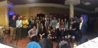 30-11-2015: Vicente Aroca se reunió con las jóvenes de Nuevas Generaciones en Mahora, con el alcalde Antonio Martínez como anfitrión.