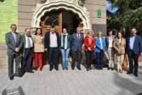 30-10-2013: El Grupo Territorial de Senadores de CLM en el Museo de la Cuchillería de Albacete.