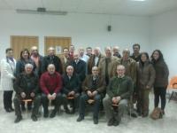 21-01-2013: Imagen de la Junta Local de Navas de Jorquera con el nuevo presidente.