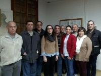 03-03-2014: La senadora Belén Torres y el diputado provincial Fermín Gómez han mantenido una reunión de trabajo con el PP de de Navas de Jorquera para animar a sus militantes a participar activamente en los comicios europeos del 25 de mayo.