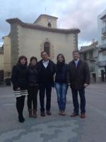 28-02-2014: La diputada nacional Irene Moreno y los diputados provinciales Abelardo Gálvez y Carmen Álvarez han visitado Nerpio en el marco de las reuniones que los cargos del PP de Albacete están realizando por toda la provincia de cara a las elecciones europeas.