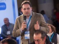 25-01-2015: Paco Núñez, durante su intervención en la Convención.