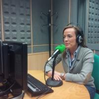 18-12-2015: La cabeza de lista al Congreso, Carmen Navarro, en una jornada maratoniana con medios de comunicación, en este caso, Onda Cero.