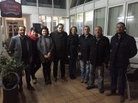 30-11-2015: Carmen Navarro y Paco Núñez visitan Ontur para explicar a sus vecinos el programa electoral del Partido Popular.