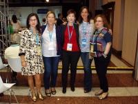 05-10-2014: Mujeres en Igualdad de Albacete junto a la secretaria nacional, Mari Carmen Fúnez, en la Interparlamentaria de Guadalajara.
