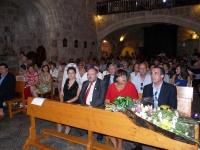 16-08-2012: Manuel Mínguez, Cesárea Arnedo, Dimas Cuevas y Carmen Álvarez en las fiestas de Letur.