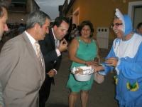 10-08-2012: Con los vecinos de La Manchuela, en Navas de Jorquera.