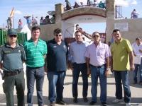 30-08-2012: El subdelegado del Gobierno en Albacete, Federico Pozuelo, ha acompañado al alcalde de Peñas de San Pedro, Antonio Serrano, y a la Corporación en la celebración de sus fiestas patronales.