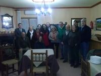 05-03-2014: El senador Vicente Aroca y la diputada provincial Carlota Romero han mantenido una reunión de trabajo con los militantes del Partido Popular de Pozohondo para animarlos a participar activamente en las elecciones europeas del 25 de mayo.