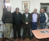 04-03-2014: El senador Dimas Cuevas y el diputado provincial Ángel Salmerón se han trasladado a las localidades de Pozo-Lorente y Villavaliente para mantener reuniones de trabajo con los militantes del PP de las localidades de cara a las elecciones europeas.
