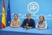 10-06-2016: Carmen Navarro ofreció detalles de la campaña electoral del 26-J en la sede del PP de Almansa.