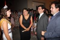 06-08-2012: En las fiestas de Alpera, con la secretaria provincial, Cesárea Arendo y el coordinador de Acción Política del PP, Javier Cuenca.